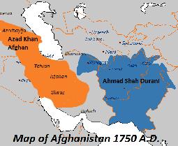 azad khan sulieman khel the ruler of azerbaijan and persia